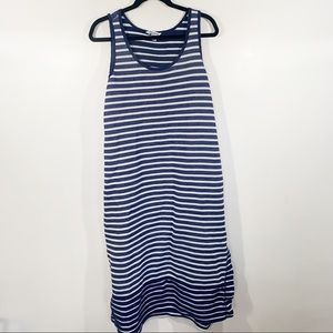 Tommy Bahama cotton striped sleeveless maxi dress